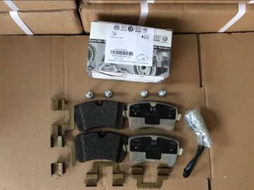 Cina Audi Rear Brake Pad Set, 4H0698451D Ketebalan 16.6mm Auto Parts Brake Pads pemasok